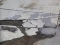 139 met grote stukken gescheurd wegdek die nodig gerepareerd moeten worden