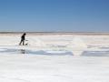 199 Er wordt jaarlijks 25.000 ton  zout 'geoogst', maar gelukkig bevat deze zoutwoestijn wel 10 miljard ton zout!