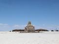 200 Ook de Dakar-Rally 2014 doorkruiste deze zoutwoestijn