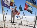202 Natuurlijk zocht ik even de vlag van onze Nederlandse deelnemers aan de rally!