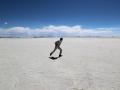211 Ik probeer dus even droog te schaatsen, want al is het lekker warm (wel meer dan twintig graden),