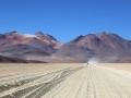 258 Na een uurtje badderen rijden we weer verder, nu naar de Dali woestijn,