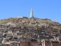 273 Na Uyuni bussen we 's nachts naar Oruro