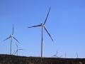 346 We zien daarna een heel stel windmolenparken in wat verder nog een woestijn is