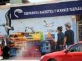 361 Maar dan verruilen we de graffiti van Valparaíso al weer voor Santiago de Chile