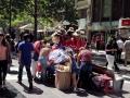 423 Iedereen doet nog de laatste Kerstinkopen in de hoofdstad van Chili