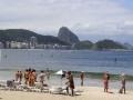 45 Doorlopend komen we dan eindelijk bij het Copacabana-strand