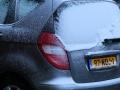 439 zodat we 26 december weer in Katwijk arriveren, waar het 's nachts gaat sneeuwen!