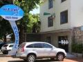 48 Na een binnenlandse vlucht is ons hotel in Foz do Iguaçu dan weer een goede uitvalsbasis: